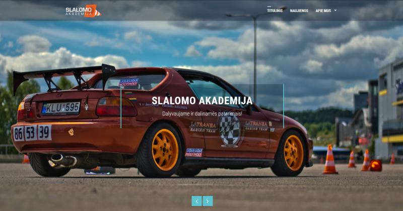 Pristatyta nauja internetinė svetainė