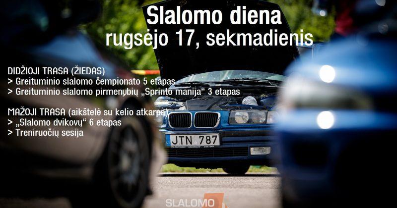 2017-09-17 Slalomo diena @Kačerginė (Dalyviams)
